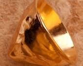 Gold Vermeil Heavy Handcr...