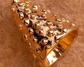 18kt Gold Vermeil Cone fo...