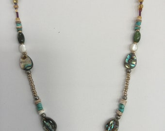 Paradise Princess semi precious stone necklace
