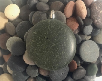SOLD! -- R52 Basalt Rock Pendant