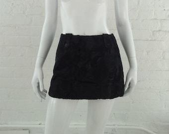 596096bb5c258f Black Faux Fur Mini Skirt 90s Vintage Fake Fur Skirt Small Goth Witch  Clueless Club Kid Cotton Miniskirt Mod Boho Velvet Fur Pencil Skirt