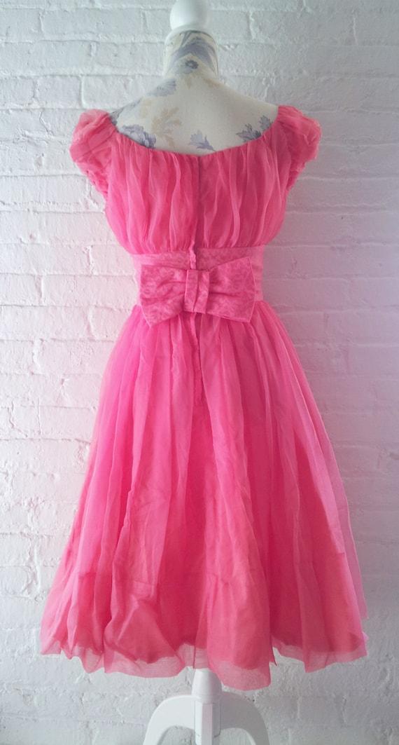1950s Prom Dress 50s Formal Dress Vintage Prom Dr… - image 4