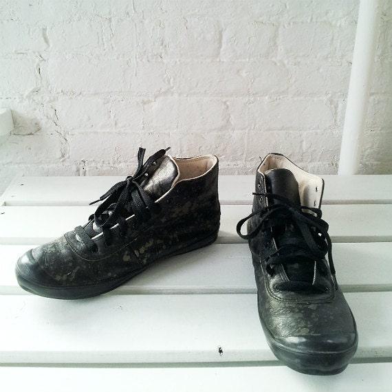 Comme Des Garcons Black Camo Sneakers 9