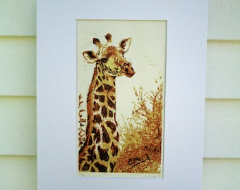 Giraffe Hand Pulled, Limited Edition