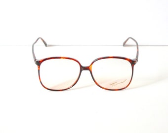 35de27c800c Vintage retro clear large glasses    vintage reading glasses    hipster  clear glasses    dark tortoise frame glasses    summer brown frames