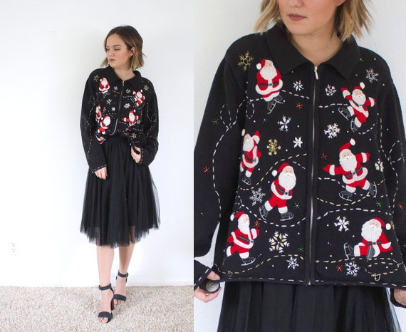 Ugly christmas sweater // christmas party sweater