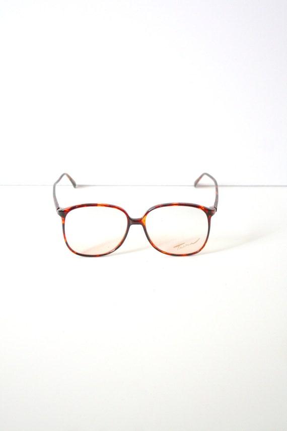 Vintage retro klar große Gläser / / Vintage Lesebrille / / | Etsy
