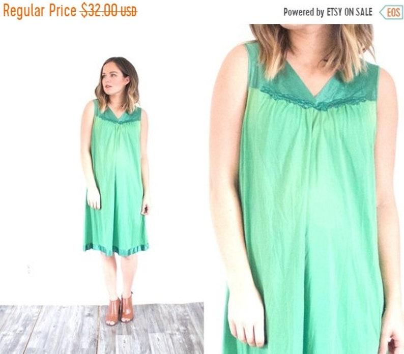 d16dd1ab00 50% OFF VALENTINES SALE Green night gown dress    mini dress