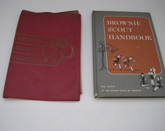 Brownie Scout Handbook & Cover