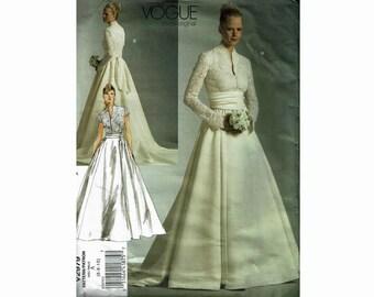 Burda 6948 patroon Jasje, top en jurk met v hals
