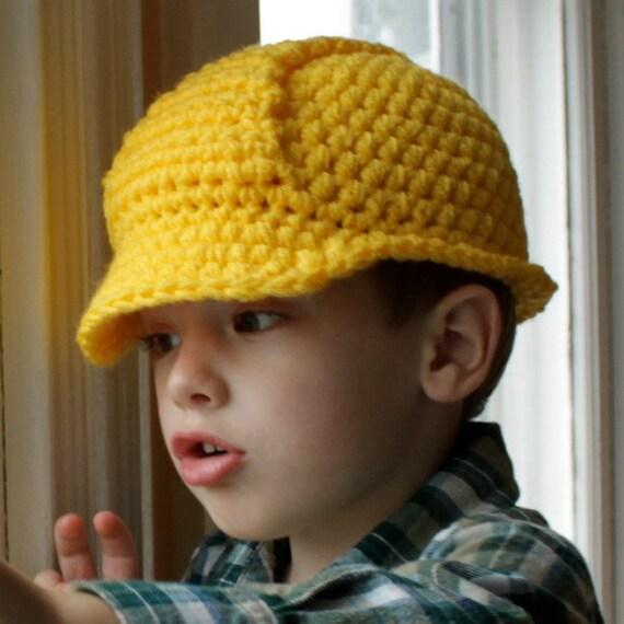 Hard Hat Helmet Crochet Pattern Permission To Sell Etsy