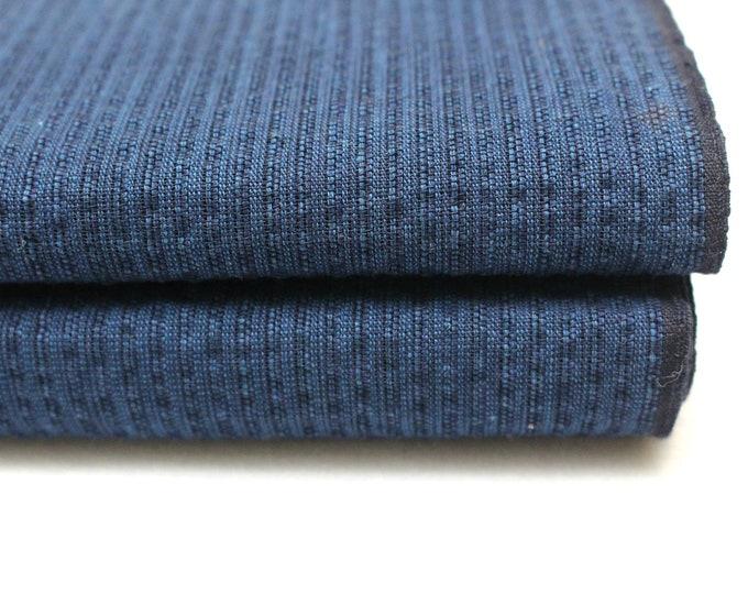 Japanese Shijiri Ori Cotton. Traditional Bolt of Fabric. (Ref: 1929)