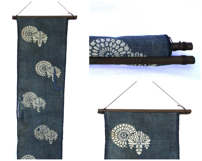 Textile Display Hanger. Wooden Fabric Scroll. Wall Hanging Supply. (Ref: 1946)
