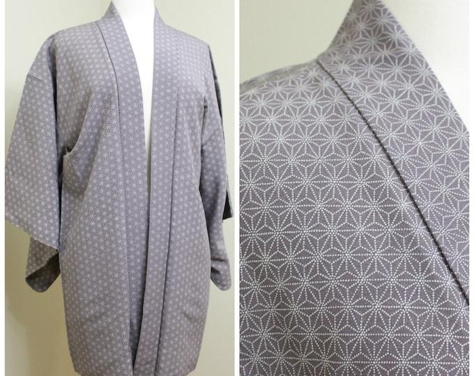 Japanese Haori. Silk Jacket. Japanese Coat. Silk Haori. Womens Haori. Kimono Jacket. Silk Coat. Japanese Jacket. Japanese Coat.
