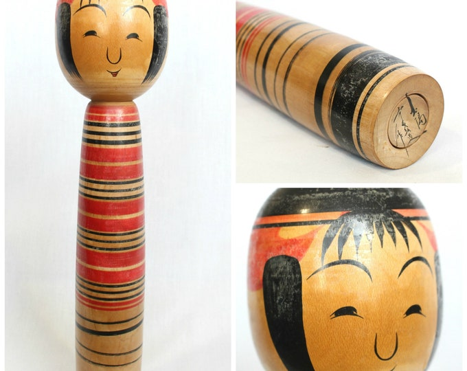 LARGE Kokeshi Doll. Vintage, Traditional Japanese. (Ref: 2001)