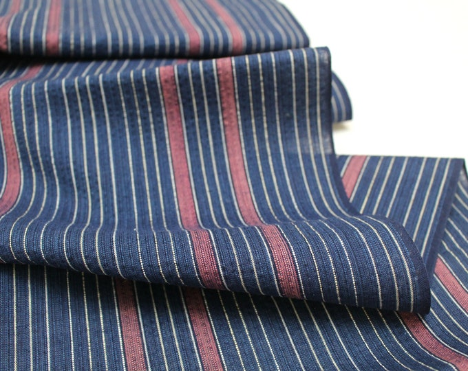Japanese Shijira Ori Cotton. Traditional Artisan Bolt of Fabric. (Ref: 1950)