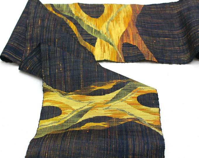 Nishijin Ori. Japanese Hand Woven Fabric. Artisan Made Textile. (Ref: 1952)