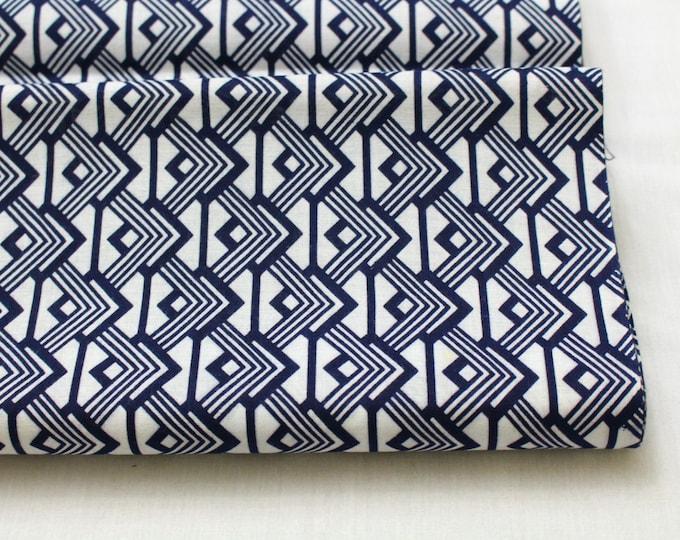 Japanese Vintage Yukata Cotton Fabric. Full Bolt Available (Ref: 1335 )