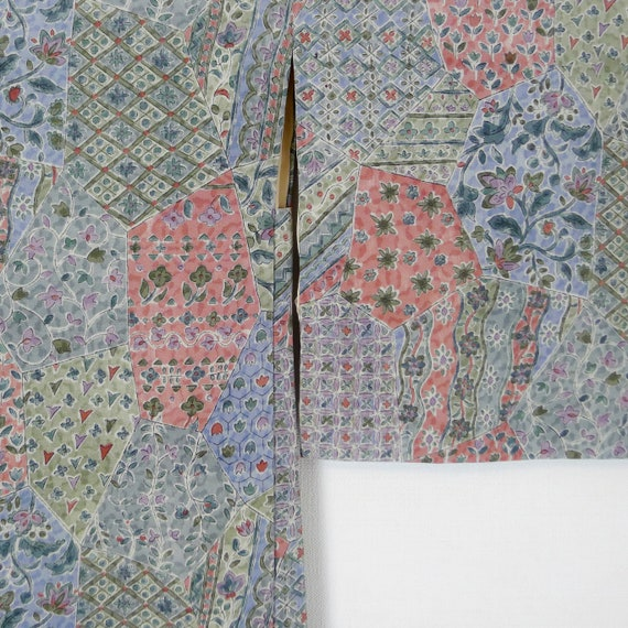 Liberty style Haori Jacket - Japanese Kimono, 70's