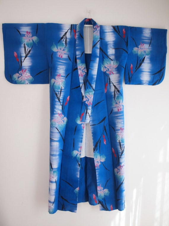 Lilies YUKATA for women - Cotton yukata, Excellent