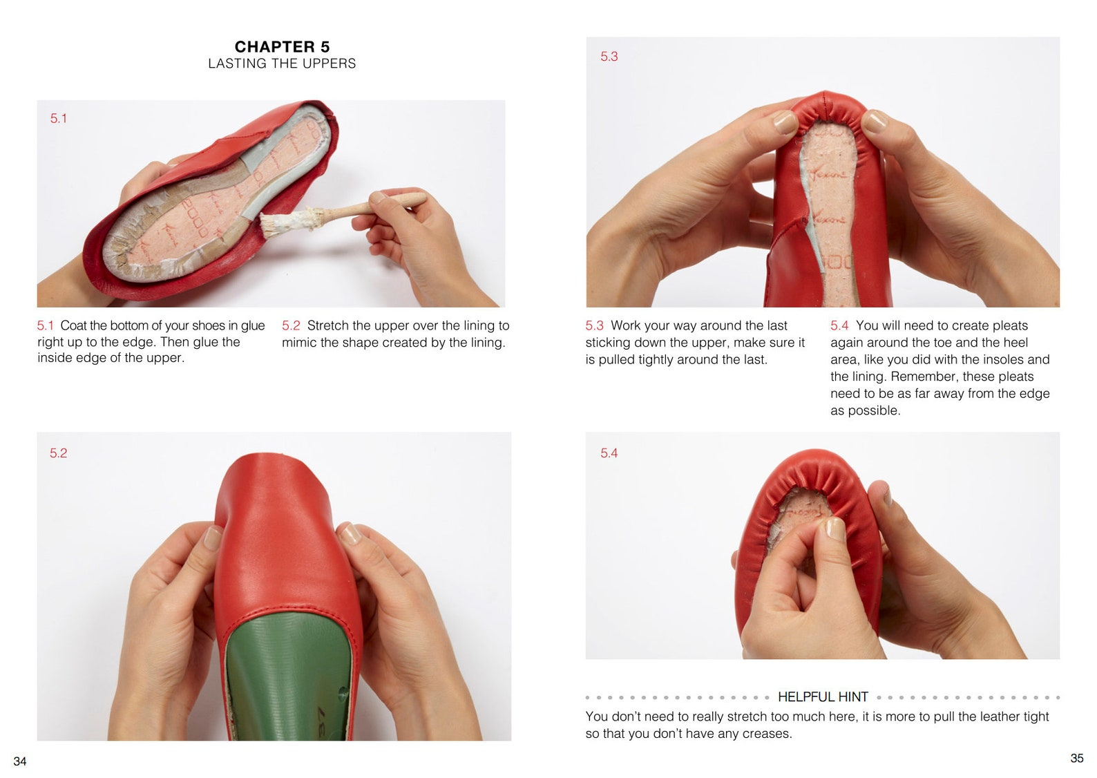 how to make ballet pumps - online shoemaking course