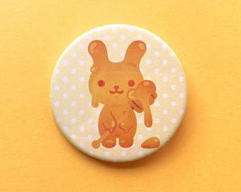 Honey Bunny - 45mm Button Badge
