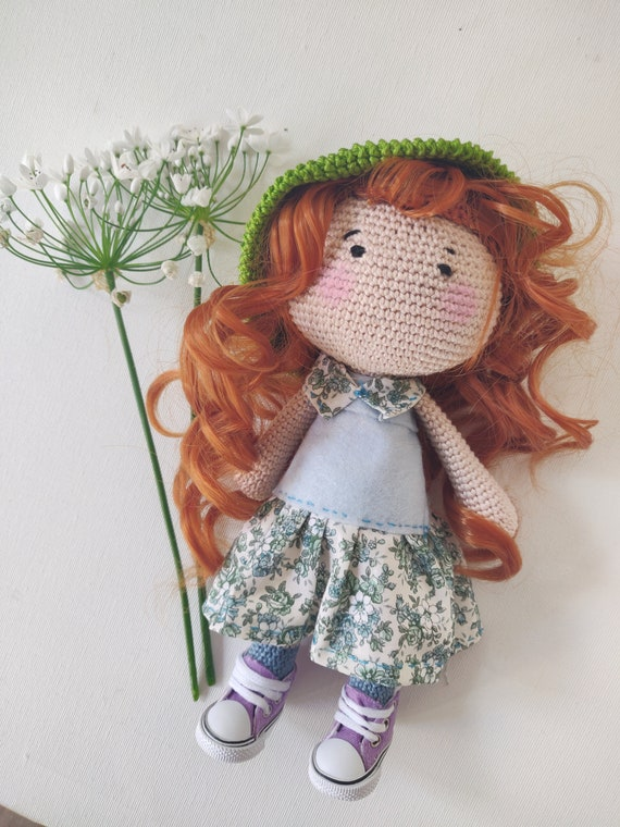 Ravelry: Red hair princess amigurumi pattern by Thuy Anh | 760x570