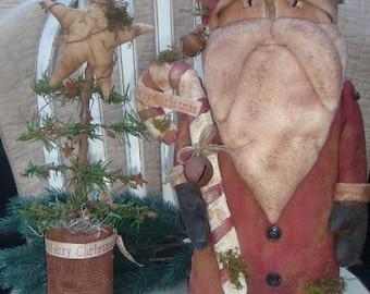 Olde Thyme Santa E Pattern