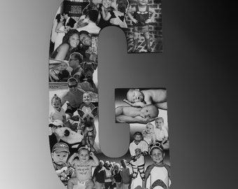 Baby Photo Collage, Custom Gift for Mom, or Dad, Family Photo Collage, Professional Photomontage for Parents, Baby Photography Collage