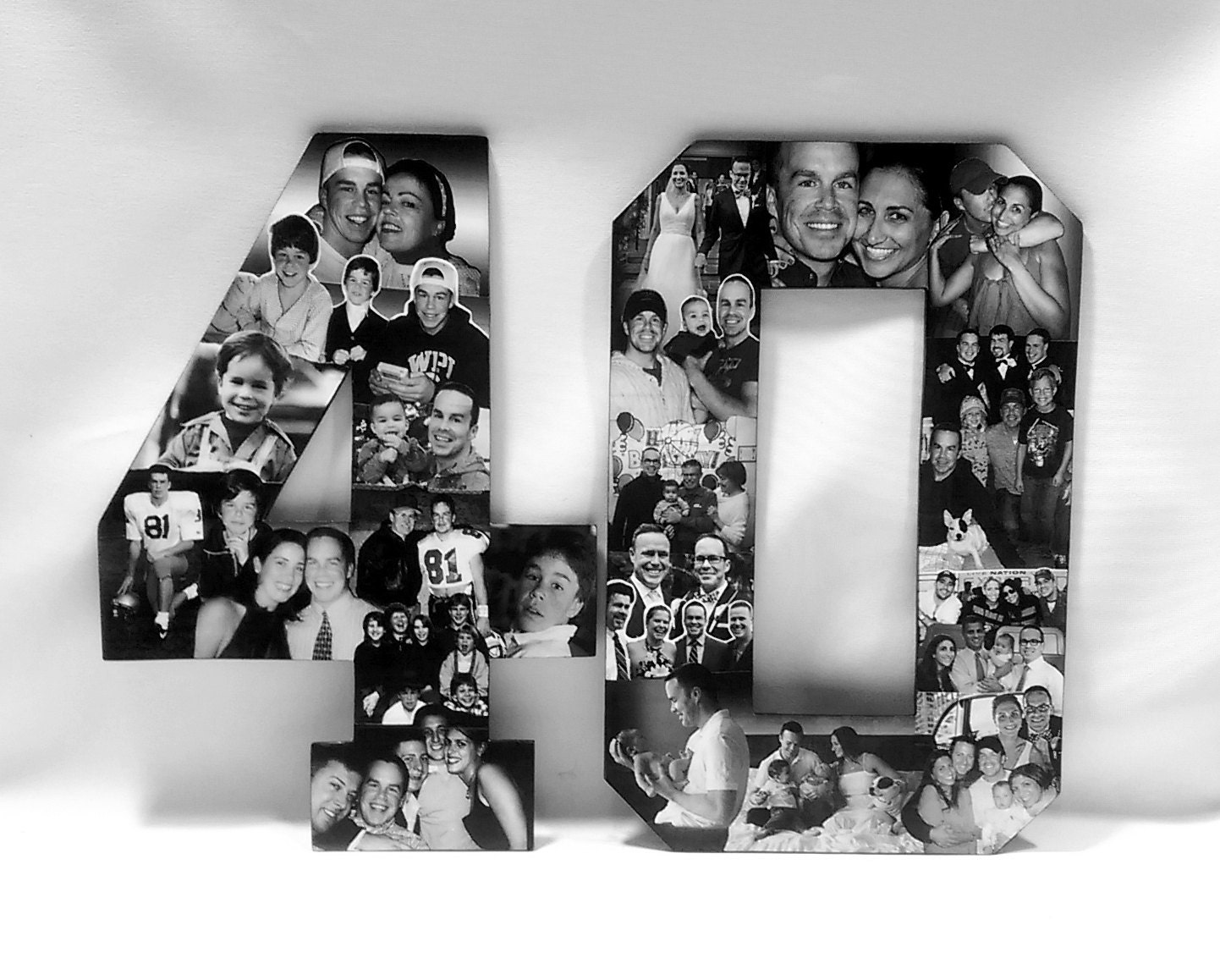 Personalized 40th Birthday Gift For Him Custom