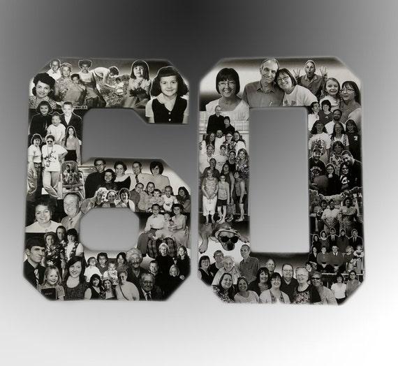 Birthday Photo Collage Custom Milestone Bithday