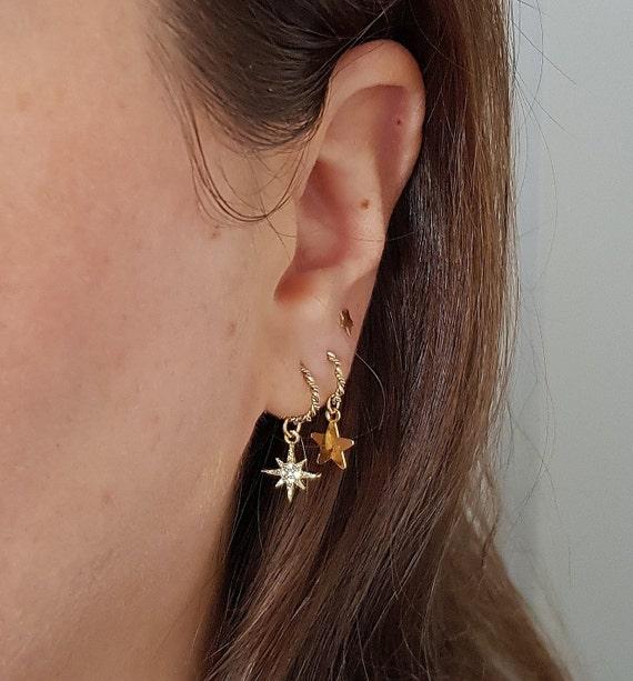 b6534f28c225 Huggie Hoops Tiny Gold Hoops Small Hoops Minimalist