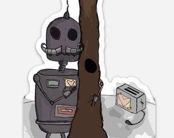 Ro & Yoshimi ( Robot Forest 2.0) - Vinyl Sticker