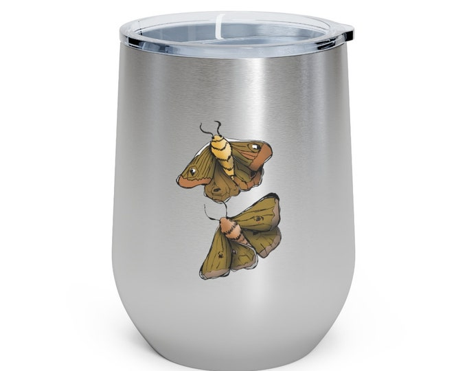 Moth Babies: 12oz Insulated Wine Tumbler