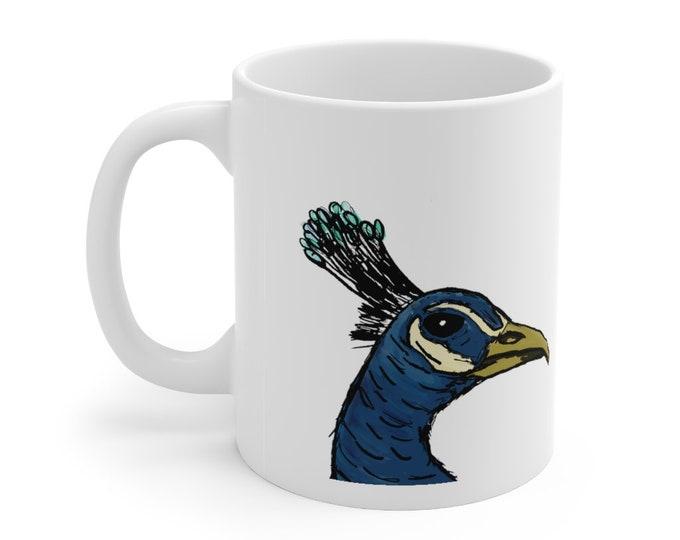 Sir James Peacock - White Ceramic Mug 11oz