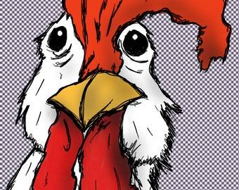 Mr. Chicken - Digital Download