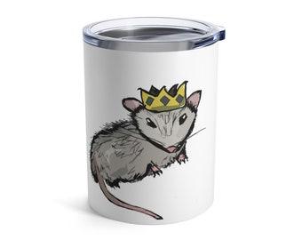Carl (opossum) - Dumpster King Insulated Tumbler 10oz