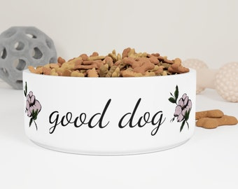 "Maggie Mae ""Good Dog""  Ceramic Pet Bowl"