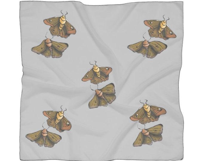 Moth Babies: elegant light weight sheer Scarf