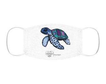 Janis (Sea Turtle) Snug-Fit Double Layer Face Mask