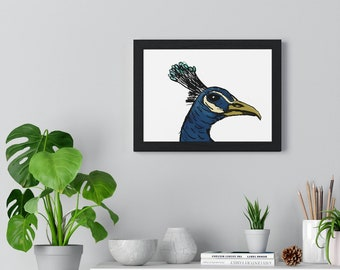 Sir James Peacock III - Museum Quality Framed Horizontal Poster Print