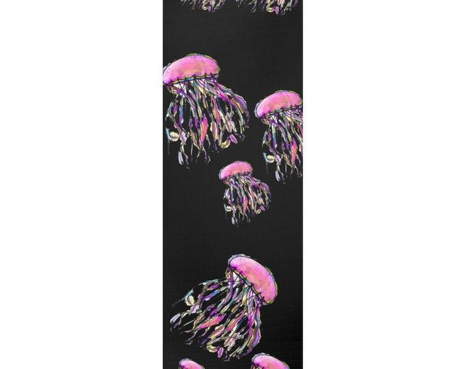 Zuri Jelly Fish: Foam Yoga Mat