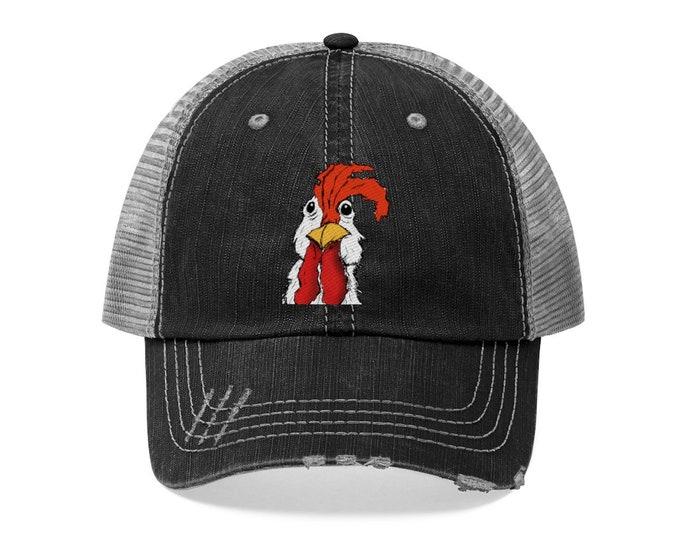 """Mr. Chicken """"Trucker Style"""" Mesh Hat"""