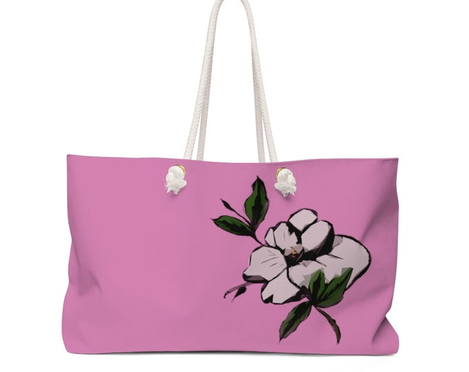 Maggie Mae Rope Handle - Weekender Bag