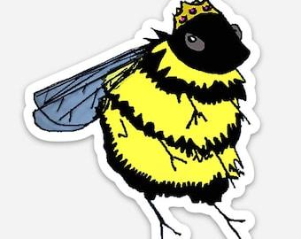 Queen Bee -Vinyl Sticker