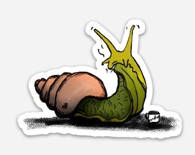 Carol (snail) -Vinyl Sticker