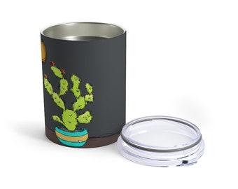 Insulated 10 oz Tumber: Sweet Tart ( Cactus)