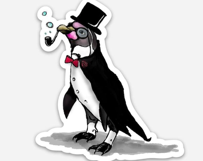 Sir. Bubbles ( Penguin ) -Vinyl Sticker