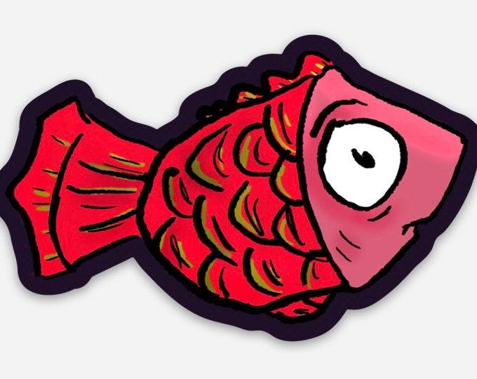 Mel the fish - Vinyl Sticker