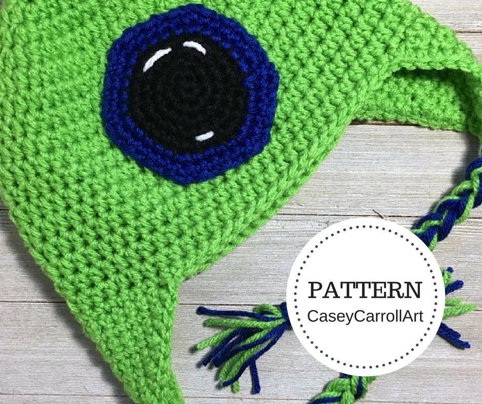 Sam Septic Eye Hat Crochet Pattern Etsy